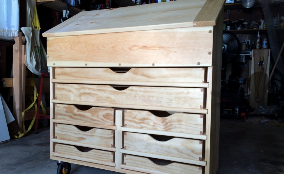 Dutch Tool Chest with drawers