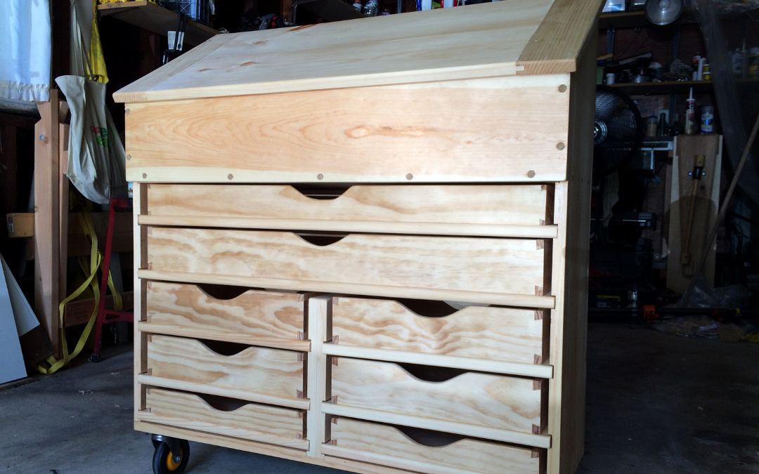 Dutch Tool Chest With Drawers Brim Studio