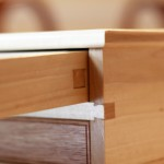 Wooden Pen Box Drawer Back