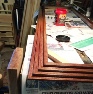 Tung Oil Applied
