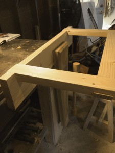 Sawyer Bench Top Sub Assembly