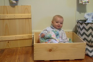 Packing Crate and Evangeline