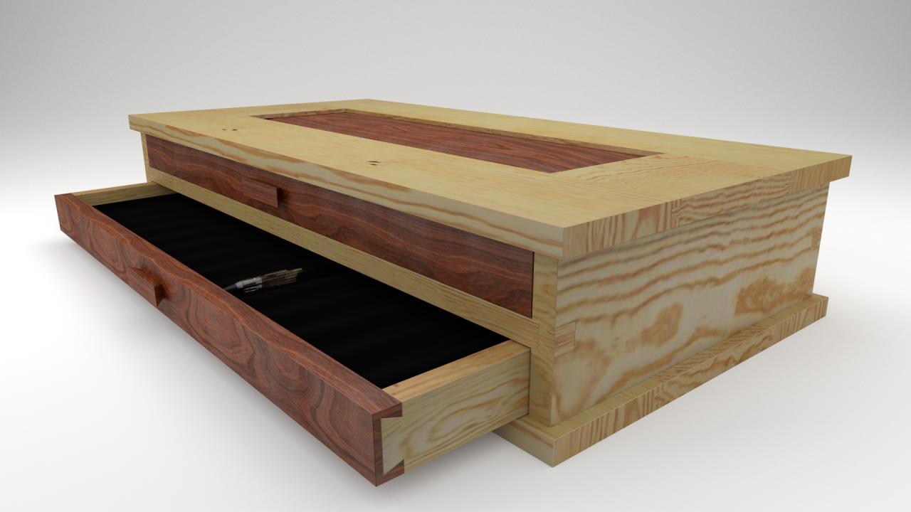 Wooden Pen Box Part 1 brim studio